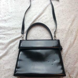 Salvatore Ferragamo Black Cross Body Bag